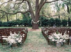 Venue, Bowing Oaks Plantation; Flowers, Celebrated Occasions; Event Design, Jessica Colvin Styling; Photo: Lauren Peele - Florida Wedding http://caratsandcake.com/JenandRyan