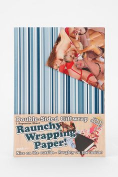 Raunchy Wrapping Paper #urbanoutfitters #holiday @Cheri Page