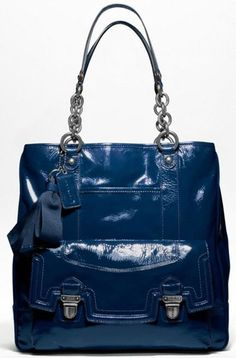 coach-poppy-patent-pushlock-tote.... I loved this bag when it was in the stores.  Still love it.  Fun bag!