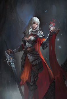 White Rose Knight – fantasy character concept by Anima 08 Fantasy Girl, Chica Fantasy, Fantasy Female Warrior, Female Armor, Female Knight, Warrior Girl, Dark Fantasy Art, Fantasy Women, Fantasy Artwork