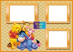 Winnie The Pooh Pictures, Cute Winnie The Pooh, Winnie The Pooh Friends, Cars Birthday Invitations, Birthday Wishes, Disney Scrapbook, Baby Scrapbook, Photobooth Layout, Snow White Art