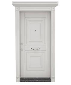 Ankara Çelik Kapı Guard Serisi 103 - Beyaz