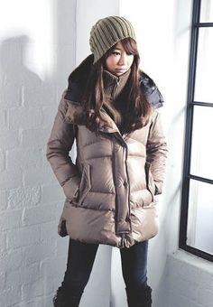 winter wear inspiration -  ski jacket