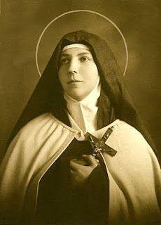 saintly as woman