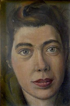 "David Tindle, ""Portrait of Govette"" (1955)"