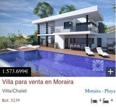 A new ultra modern villa in Cumbre Del Sol http://www.dinastiaestate.com/propiedad/villa-para-venta-en-moraira-5239/