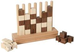 Bartl, Vier gewinnt ,aus Holz Spiel für 2 Personen | 3356 / EAN:04032821001573