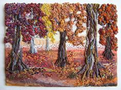 Autumn Glade embroidery.