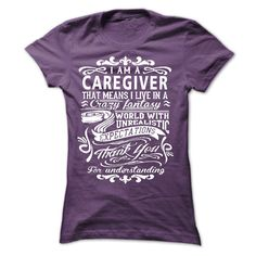 I am a Caregiver - in large