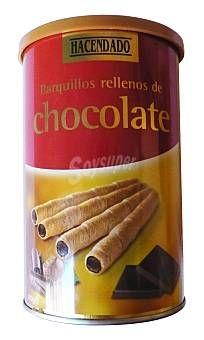 Barquillos rellenos de chocolate Hacendado (Mercadona) - 2 unidades 1,5 puntos
