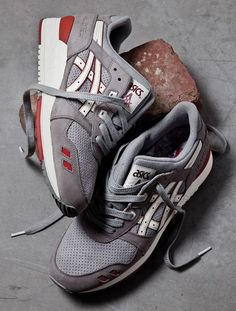 "Highs & Lows x Asics Gel Lyte III ""Bricks & Mortar"" Pack"