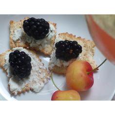 What summer brings...blackberries & cherries