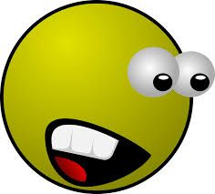 Image result for smiley face scared
