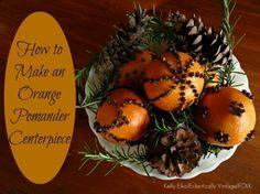The Scent of the Season – Make an Orange Pomander Centerpiece | FOLK | Live Authentic