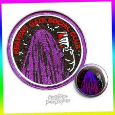 Image of Heaven's Gate Social Club Patch & Button