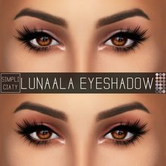 Sims 4 Updates: Simpliciaty - Make Up, Eyeshadow : LUNAALA EYESHADOW, Custom Content Download!