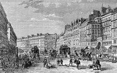 Bulevar Haussmann, 1851 « Indoprogress