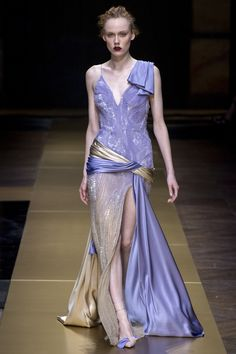 Atelier Versace Fall 2016 Couture Fashion Show - Kiki Willems (IMG)