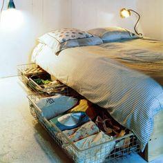 Sous un lit - Marie Claire Maison