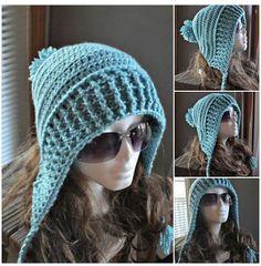 Pasatiempos entre hilos y puntadas: Top Winter Hats, Crochet Hats, Beanie, Tops, Fashion, Templates, Weaving, Beanies, Stitching