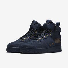 4e628e5aa6f897 Nike SF Air Force 1 Mid Obsidian. Grailify Sneaker Releases