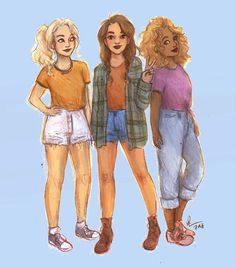 My fave Heroes of Olympus gals.