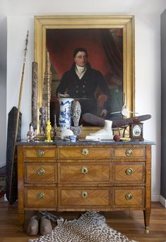 A Louis XVIth period kingwood commode from Lauder and Howard Antiques Fine Art. - Matthew Lucas_dresser