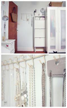 Ikea Wardrobe in small bedroom.
