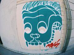 The Gothic Quarter Barcelona Street, Bull Dog, Surfboard, Stencils, Graffiti, Street Art, Gothic, Dogs, Goth