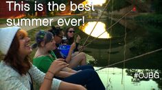 It has been a good summer. Tell us what makes a great summer on Twitter -- #OJBG