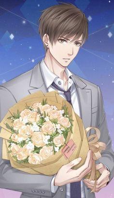 love and producer Cool Anime Guys, Handsome Anime Guys, Anime One, Hot Anime Boy, Manga Anime, Anime Picture Boy, Desenhos Love, Anime Love Couple, Manga Boy