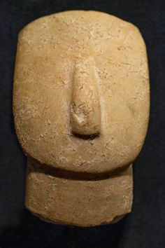 "Cycladic sculptures [Greece] ~ ""Head"". Marble. 