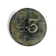 British Officer button of the 43rd Regiment of foot.