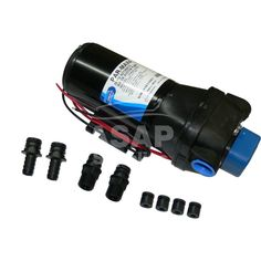 Jabsco Par Max 4 pressure pump with 16 lpm flow rate. The Par Max 4 self primes to vertical lift & can run dry without damage / Water Pressure Pump, Fresh Water, Pumps, Pump Shoes, Stilettos, Pump, Slipper