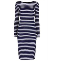 TOPSHOP Maternity Stripe Bodycon Dress featuring polyvore fashion clothing maternity grey marl