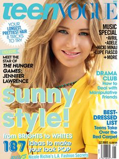 Teen VOGUE is a well-know American teen magazine. If you want to become more fashion, you cann't miss it. This magazine focuses on fashion and celebrities and offers information about the latest entertainment and feature stories on current issues and events.
