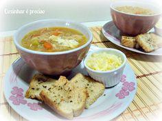 Cozinhar é Preciso: Sopa de Legumes...