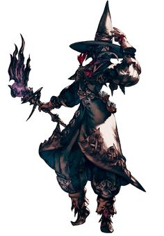 Final Fantasy XIV: A Realm Reborn - Elezen Black Mage
