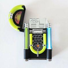 Black Music Jukebox Refillable Butane Cigar Cigarette Lighter w/ Lights by Uf. Art Hoe Aesthetic, Aesthetic Photo, Bongs, Hookah Smoke, Cannabis, Cool Lighters, Light My Fire, Fire Starters, Jukebox