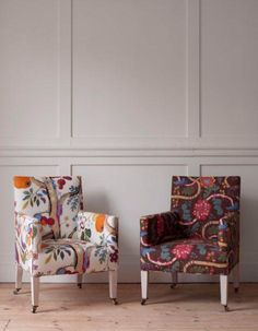 Josef Frank fabric, Bloomsbury Library Chair
