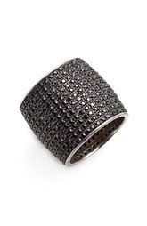 Tom Binns 'Bejewelled' Cylinder Ring