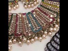 latest bridal jewellery srk bridal attari bazar jalandhar 9653631867 ashiq ha - YouTube Punjabi Traditional Jewellery, Bridal Chura, Bridal Jewellery, Jewelry, All The Colors, Youtube, Jewlery, Jewerly, Schmuck