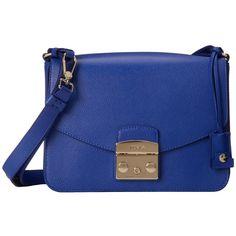 Furla Metropolis Small Shoulder Bag ($498) ❤ liked on Polyvore