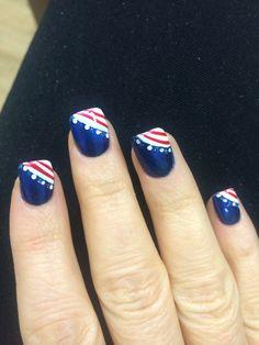 Team USA Nails! Love my nail techs!