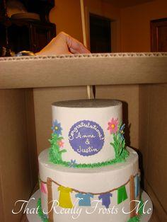 Stress Free Cake Transportation - by Frostine @ CakesDecor.com - cake decorating website