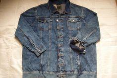 Herren JEANS Jacke in blau , 3 XL 64/66    NEU!!!