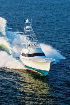 Paul Mann Custom Boats-Like so many of his boatbuilding brethren, Paul Mann made his way in the world as a mate and captain fishing the rough seas out of Oregon Inlet, North Carolina. So he knows what goes into making a good fishing boat. Deep Sea Fishing Boats, Best Fishing Boats, Fishing Boats For Sale, Sport Fishing Boats, Sport Yacht, Yacht Boat, Fishing Yachts, Kayak Fishing, Offshore Boats