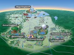 Excellent maps and resort information