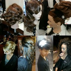 Holiday Hair Glam Get your hair in selfie shape with our holiday hair special. Join our fantastic team for a shampoo and style with curls included. If you prefer a different style, please prewash your hair and our team will help you create a unique updo!