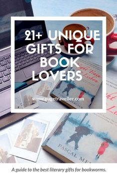 A guide to the best and most unique literary gifts for book lovers who also love to travel. Includes practical gifts for travellers and creative present ideas for travellers; from journals to scrapbooks to jewellery to literary tea! #gifts #giftsforher #g